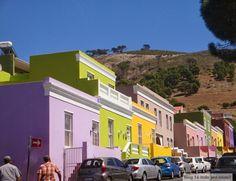 Bairro Bo-Kaap - Cape Town, África do Sul                                                                                                                                                                                 Mais