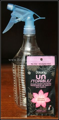 Belinda's Babblings: Easy DIY Downy Unstopables Air Freshener for Car o...