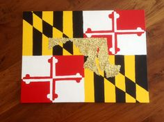 maryland flag colors