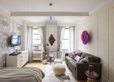 Stylish Studio Apartment Design Living