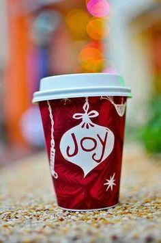 A cup of joe is a cup of joy!