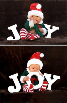 Thinking about. Doing something like this with kids for xmas cards. But signs that say merry christmas 2013 instead. With red and green on them!