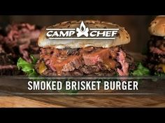 When you have an itch for a burger but you want some low and slow BBQ, this is your fix. Combining a Smoked Brisket recipe and the simplicity of a burger recipe Hamburgers, Brisket Burger, Smoker Recipes, Burger Recipes, Chef Recipes, Smoked Brisket, Smoked Ribs, Chef Work, Camp Chef