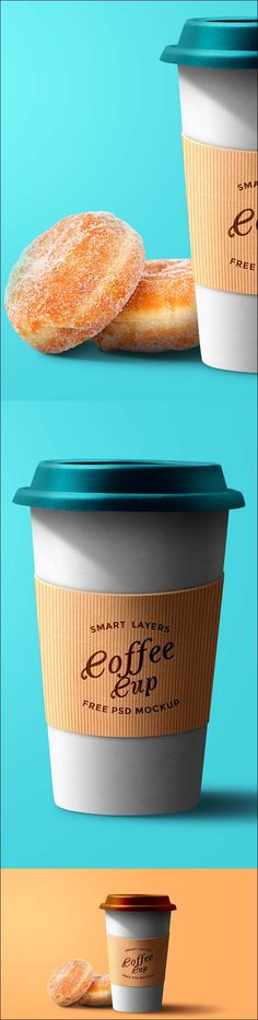 Paper Coffee Cup PSD Mockup Friends, today's free design resource is an elegant coffee cup PSD mockup with cardboard sleeve. You can easily change the cup, lid and background color to complement the expression of your design. You can also quickly edit the logo / brand identity on the cardboard sleeve using the smart-layer.