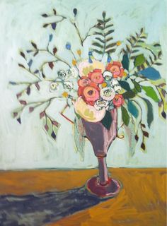 ❀ Blooming Brushwork ❀ - garden and still life flower paintings - Julie Wallace