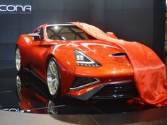 April 20, 2013 - ICONA VULCANO: A luxury one-off supersports car at Shanghai Autoshow.