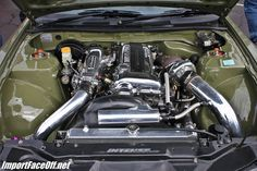 1999 Silvia S15 SR20DET Engine. Like the color of the car and the motor is sweet.