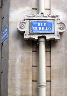La rue Murillo, très class...  (Paris 8ème).
