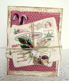 Crafty Secrets Heartwarming Vintage Ideas and Tips: Christmas is in the Air