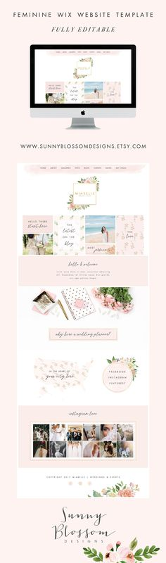 $95 Event planner Wix Website, website design, wedding planner, event planner, event coordination, logo design, flowers, photography, 4911