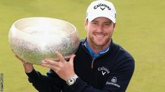Marc Warren with the Made in Denmark trophy