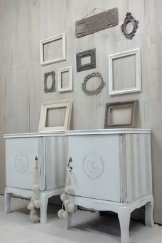 Cómoda Luis XV   Con Secreter          Cómoda Provenzal           Vajillero / mueble TV Luis XV                 ______________________... Blue Furniture, Recycled Furniture, Cabinet Furniture, Furniture Projects, Furniture Makeover, Furniture Decor, Painted Furniture, French Country Furniture, Shabby Home