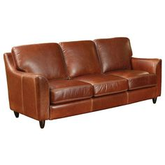 Omnia Great Texas Leather Sofa
