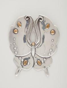 William Spratlng. Butterfly Brooch (Prendedor en forma de mariposa) | LACMA Collections