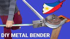 Diy Adjustable Bender for Square Tubing and Steel Pipe Diy Welding, Welding Tools, Metal Welding, Metal Pipe, Metal Bending Tools, Metal Working Tools, Metal Tools, Pipe Diy Projects, Welding Projects