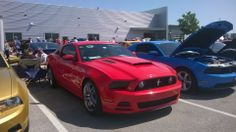 Mustang carshow OKC 5/10/2014