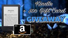 Enter to win a Kindle + $50 Gift Card!