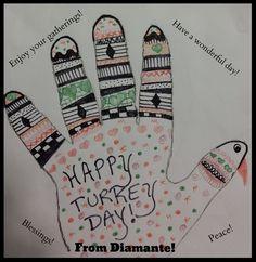 Happy Thanksgiving from Diamante Lavendar!