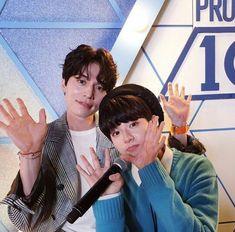 haenami lee jinwoo and lee dongwook produce x 101 Korean Tv Shows, Lee Dong Wook, Produce 101, Kpop, K Idols, Korean Singer, Boy Groups, Wattpad, Cute