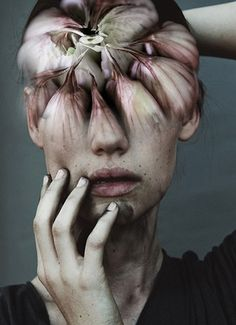 AJO HEAD, ANTONIO MORA (aka mylovt) ~ a Spanish artist who combines with talent portraits photographed in various landscapes