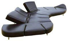 Super cool for media room Edra Flap Sofa contemporary sofas