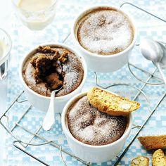 Chocoladepotjes/ chocolate soufle - Allerhande  (recipe is in Dutch) Rachel Khoo