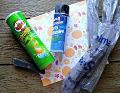make your own grocery bag dispenser, countertops, home decor, seasonal holiday decor