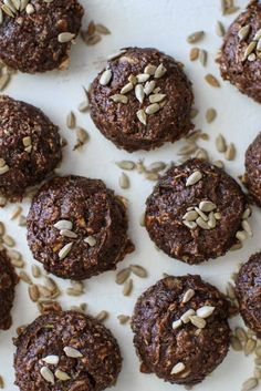 Vegan Dark Chocolate Avocado Sunflower Seed Butter Cookies | Peaceful Dumpling