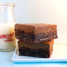 Mmm. Brownies.