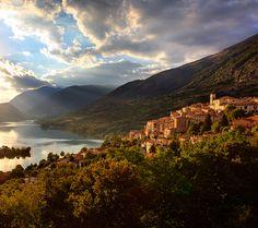 stayed in Sora near here! sooo beautiful! Abruzzo National Park, Italy