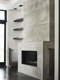 Modern Concrete - fireplaces, countertops, cladding, furniture | Toronto, Ontario