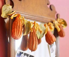 Dried Fall Garland