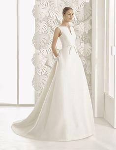 Vestidos de novia línea A 2017: 40 diseños para lucir una figura estilizada y entallada Image: 4