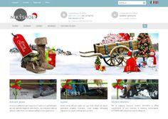 Allestimento natalizio per nikyshoes.it http://www.easy-web.it/realizzazione_siti_web.html