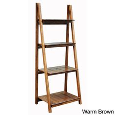 @Overstock - Manhasset Slatted 4-shelf Folding Bookcase - Perfect for any modern or traditional home, this versatile bookcase has slatted shelves and is finished in espresso and warm brown for a lively color. You'll love the unique design that makes is easy to set up, move and store.  http://www.overstock.com/Home-Garden/Manhasset-Slatted-4-shelf-Folding-Bookcase/9140710/product.html?CID=214117 $166.49