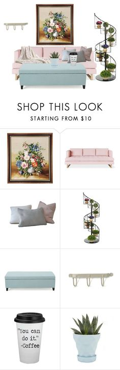 """""""----"""" by lilann2721 ❤ liked on Polyvore featuring interior, interiors, interior design, home, home decor, interior decorating, Gus* Modern, Christopher Knight Home and Chive"""