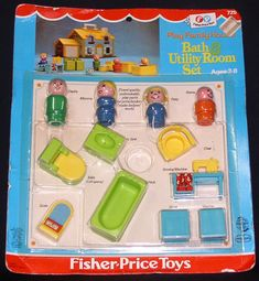 Image result for fisher price little people washer dryer