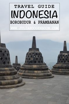 All you need to know about visiting the main temple complexes around Yogyakarta, Indonesia. What to see, when to go and how to get to Borobudur and Prambanan. Borobudur, How To Get, How To Plan, Travel Guides, Temple, Adventure, City, Temples, City Drawing