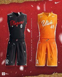 2018 NBA Christmas Day Jersey Concepts on Behance Best Nba Jerseys, Basketball Kit, Nba Uniforms, A Team, Sportswear, Rompers, Football, Concept, Swimwear