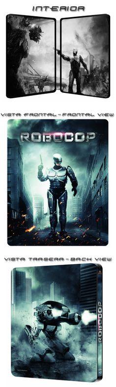 Edición metálica limitada de Robocop - Robocop's Metalic Limited Edition   #Robocop #Edicioncoleccionista #LimitedEdition #Metalic