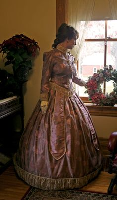 Satin gown at Recollections