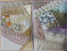 I ❤ crazy quilting & embroidery . . .   Birthday cards 2012 ~By Ritva Peltola