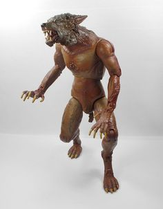 Dr Who - Werewolf - Action Toy Figure - 2006 BBC - 21 cm Tall