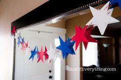 Easy Patriotic July Decor
