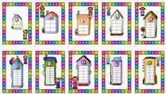 Os dejamos estas super casitas de descomposición de números de del 1 al 10. En estas casitas en cada uno de sus pisos sólo pueden entrar las parejas de amigos de … Early Years Maths, Grande Section, Addition And Subtraction, First Grade, Montessori, Teacher, Clip Art, Kids Rugs, Activities