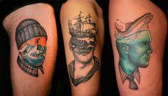 #Tattoos del italiano Pietro Sedda
