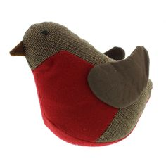 This practical and pretty Rory the Robin Redbreast doorstop is a stylish addition to any home Measures 21 cm in height and 12 5 cm in width Wipe
