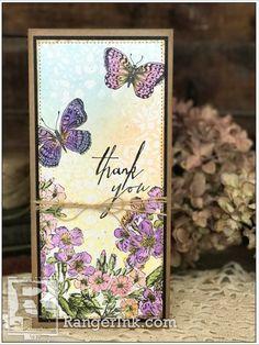 Flower Garden Card by Richele Christensen