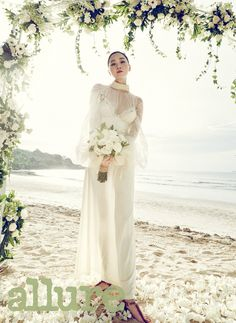 Jang Yoon Joo - Allure Magazine May Issue '15