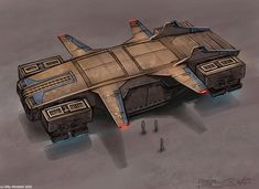 concept ships: Concept ships by Billy Wimblett